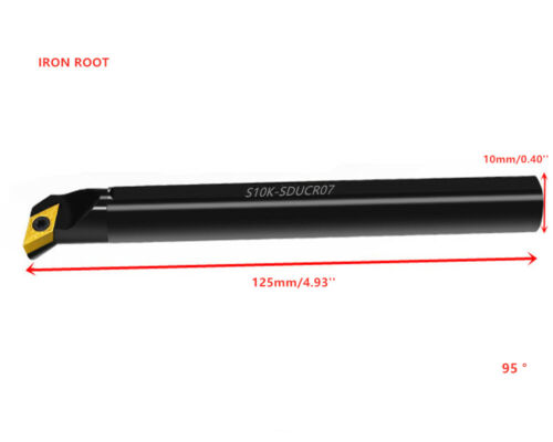 S10K-SDUCR07 CNC Lathe Internal Turning Tool Holder Boring Bar For DCMT07 Insert