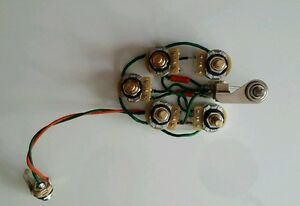 rickenbacker 360 620 330 4005 guitar 5 control wiring harness mono rickenbacker bass wiring harness at Rickenbacker Wiring Harness
