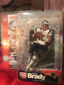 Les sportspicks de Tom Brady Rookie Mcfarlane