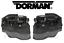 For BMW 2005-2016 Set Pair of 2 Front Integrated Door Locks Actuator Dorman