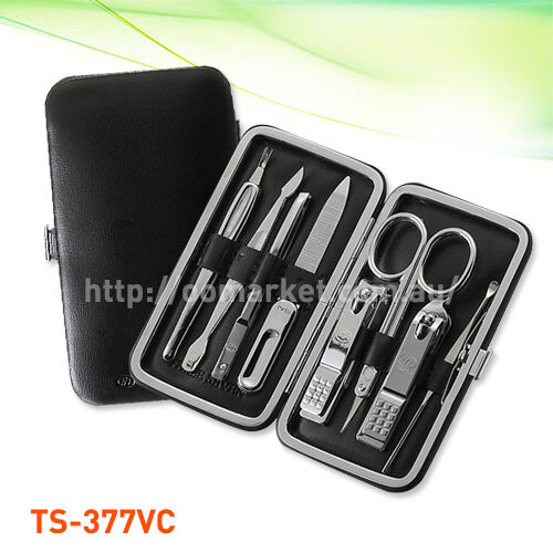 8 pcs Three Seven Silver Nail Clipper Kit Stainless Steel(TS-377VC) Aussie Stock