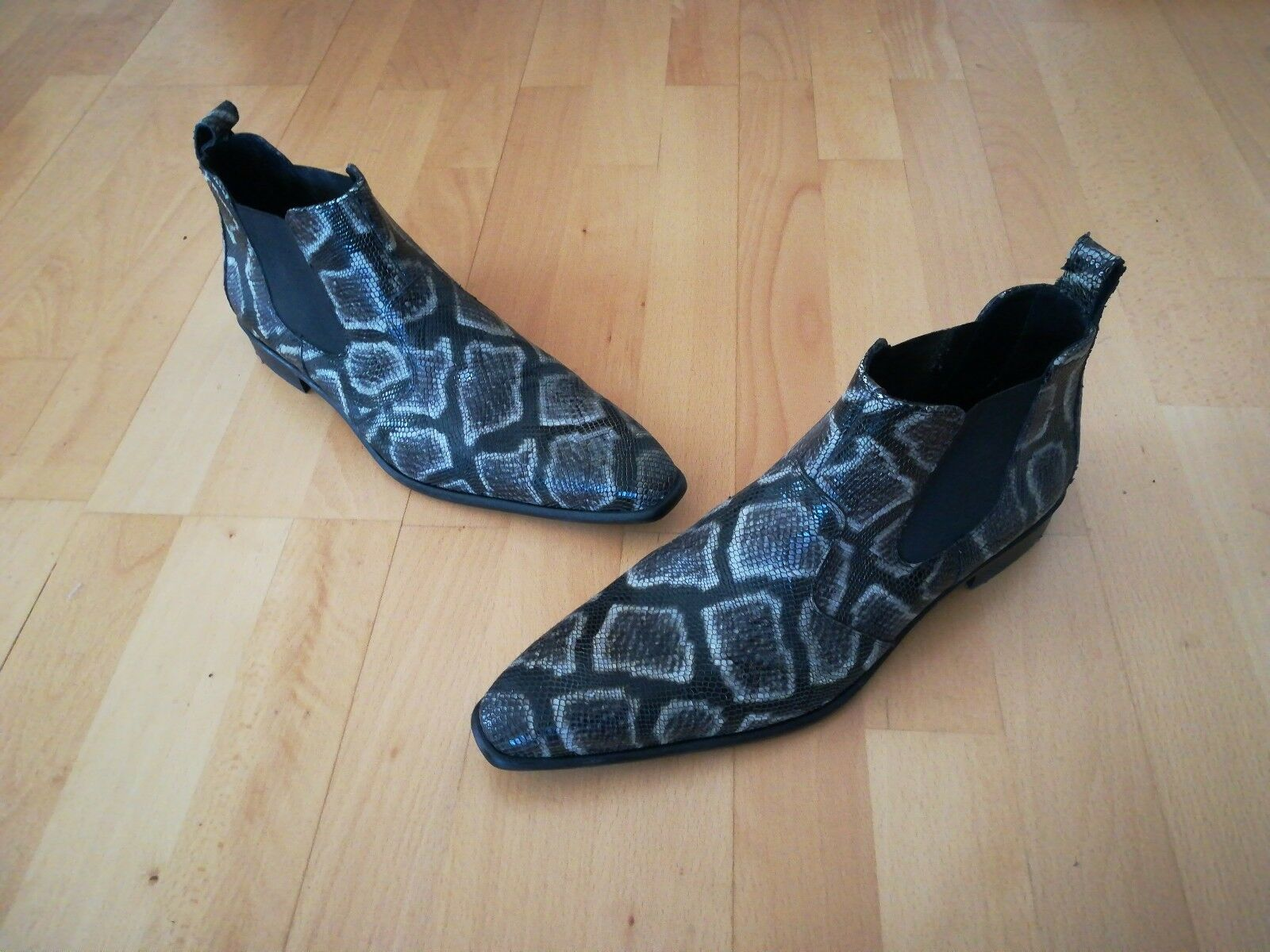 Lloyd Stiefeletten Pirat - Schlangenlederoptik - Größe 45