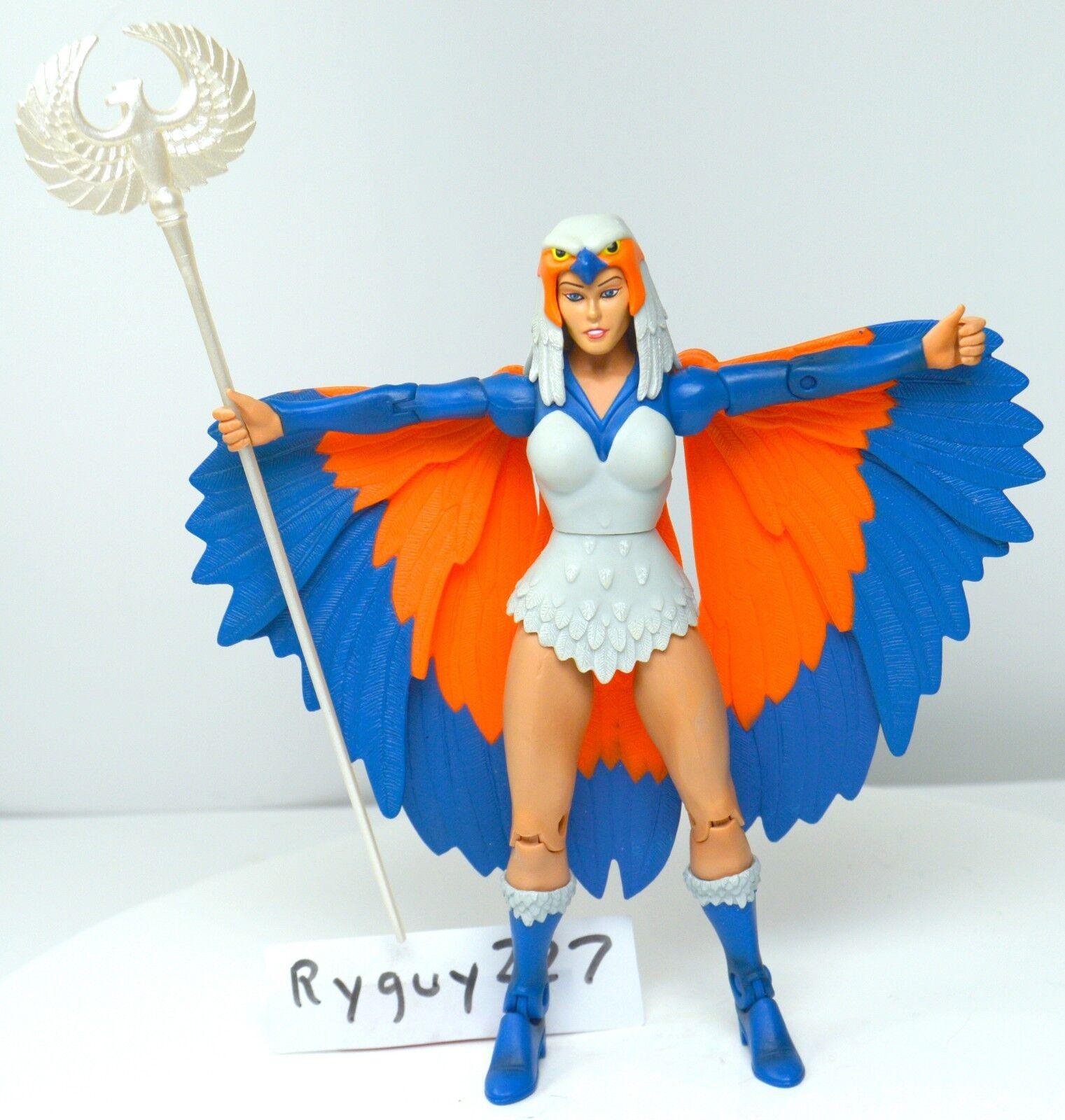 MOTUC, Sorceress, near complete, figure, Masters of the Universe Classics He-Man