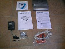 AVTech AVC732E Video Server 2 Ports FOR Security Surveillance IP Web Camera A2
