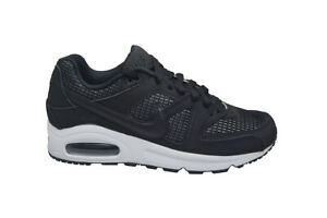 Image is loading Womens-Nike-Air-Max-Command-397690091-Black-White bb88632cbc