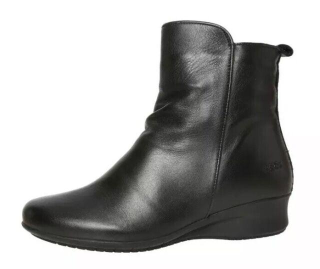 Taos Elite Black Leather Bootie 11371