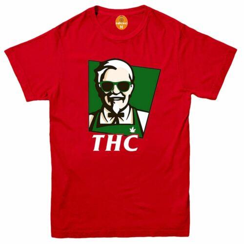 Funny t shirt Weed bong Smoke Cheech retro Chong THC Cannabis Molecule T-shirt
