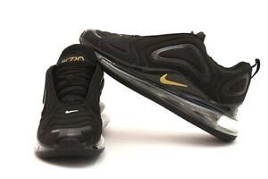 Dettagli su Nike air max 720 Nero Black Gold Tg 41 42 44