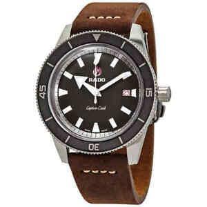Rado-Captain-Cook-Automatic-Grey-Dial-Men-039-s-Watch-R32505015