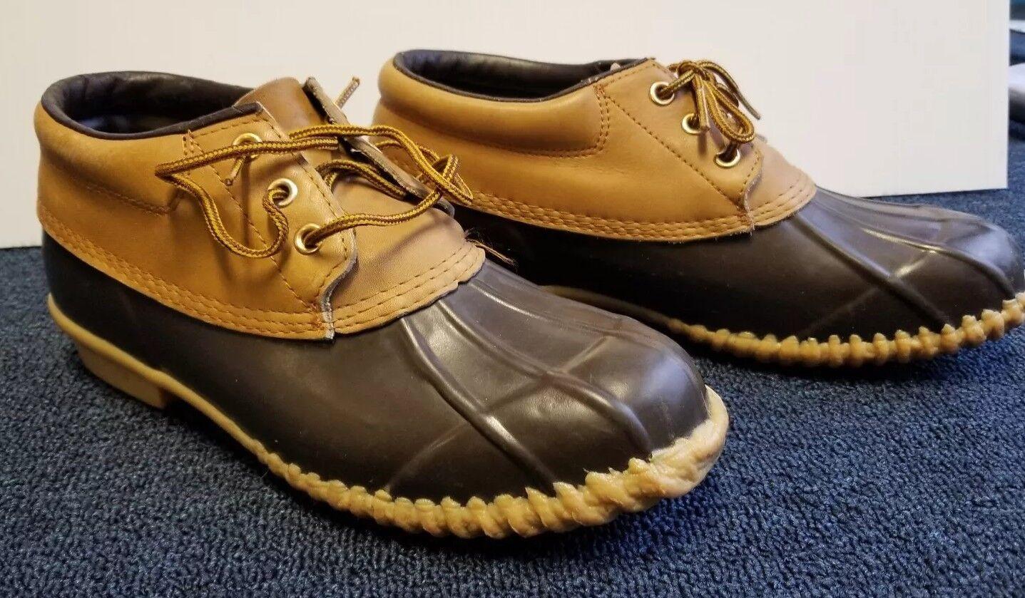 VTG Starker Duck Stivali Tan Donna Brown Tan Stivali 9 Steel Shank Waterproof Ankle Height b1ae0e