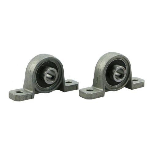 3D Printer /& CNC 1Pcs KP08 8mm Shaft Ball Mounted Pillow Block Insert Bearing