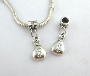 2 Silver Dangle Bags Of Money Charms  Brand New amp Sealed  Plus Free Gift Pouch - Middlesbrough, Cleveland, United Kingdom - 2 Silver Dangle Bags Of Money Charms  Brand New amp Sealed  Plus Free Gift Pouch - Middlesbrough, Cleveland, United Kingdom