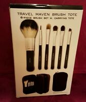 Makeover Essentials Me Travel Maven 6 Piece Makeup Make Up Brush Set With Tote