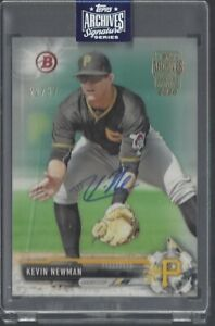 Kevin-Newman-Topps-Archives-Signature-Series-On-Card-Autograph-37-MLB