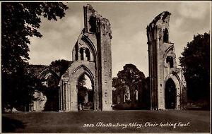 Glastonbury-England-Somerset-1930-Abtei-Benediktiner-Abbey-Kloster-Ruine-Church