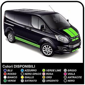 FORD-TRANSIT-Custom-SWB-M-SPORT-Van-grafiche-furgone-adesivi-decalcomanie-strisc