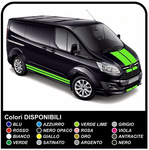 ford transit custom swb m sport van grafiche furgone. Black Bedroom Furniture Sets. Home Design Ideas