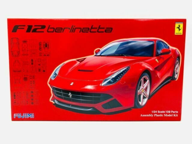 Fujimi Rs 33 Ferrari F12 Berlinetta Dx 1 24 Scale Kit For Sale Online Ebay