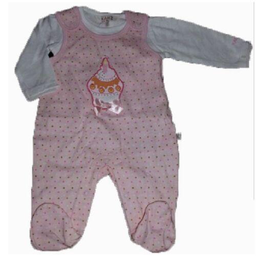 Libel Girls Baby stramplerset 2 pièces fille babystrampler Body rose pink