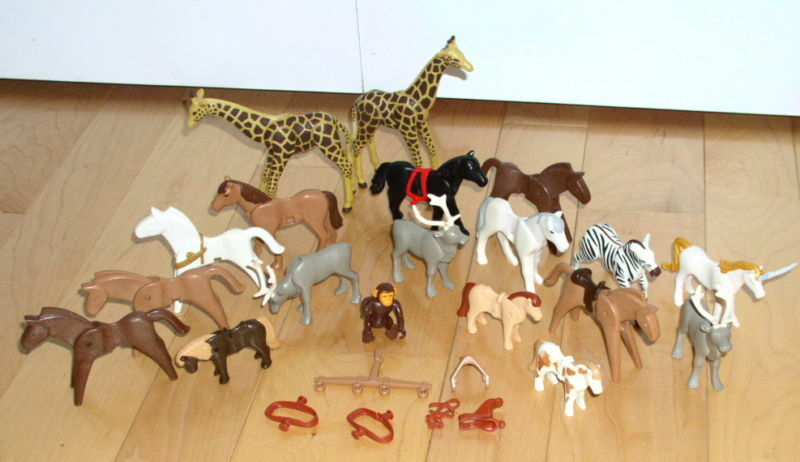 Playmobil Lot of Horse Horses Animals