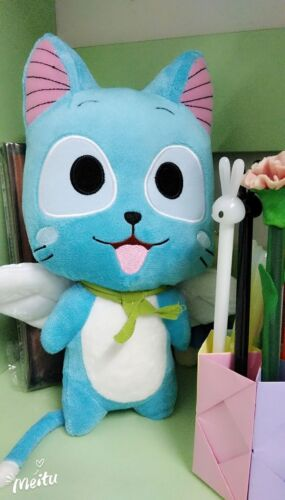 22/'/' Anime Fairy Tail Happy Doll Cute Stuffed Pillow Plush Cosplay Toys Gifts