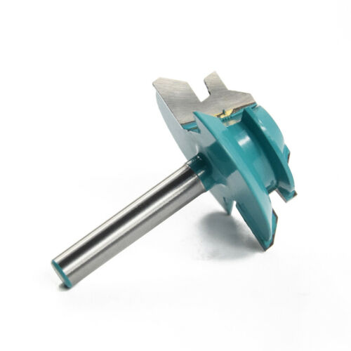 Joint Router Bits Lock Miter Router Bit 1//4/'/' Shank Wood Tenon Cutter 6.35mm