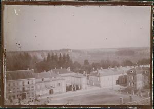 France-Grand-Est-la-Marne-Sainte-Menehould-ca-1900-vintage-citrate-print-Vi