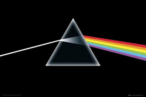 Lp1443 Pink Floyd Dark Side Of The Moon Maxi Poster 61x 91.5cm