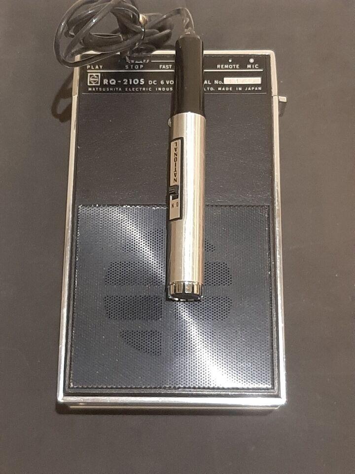 Båndoptager, Andet, NATIONAL MODEL RQ-210S