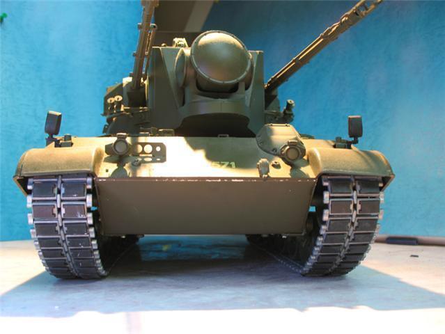 116 METAL TRACKS Set re Tamiya LEOPARD A4  & GEPARD FLAKPANZER  RC Static Tank