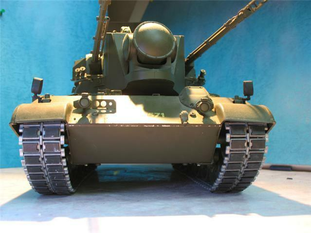 1/16 METAL TRACKS Set re Tamiya LEOPARD A4  & GEPARD FLAKPANZER  R/C Static Tank