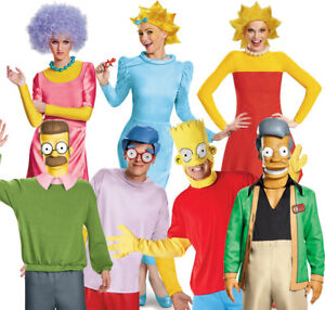 OFFICIAL-LICENSED-THE-SIMPSONS-COSTUME-CARTOON-FANCY-DRESS-CHOOSE-CHARACTER