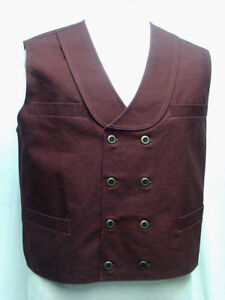 Double-Breasted-Burgundy-Frontier-Classics-Old-West-Victorian-style-vest