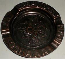 ASHTRAY GM CAR ASSEMBY PLANT OSHAWA BRONZE MADE IN CANADA VINTAGE COLLECTABLE