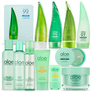 Holika-Holika-Aloe-Line-Foam-Soothing-Gel-Toner-Emulsion-Cream-Mist-Sun