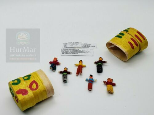 Guatemalan Small Worry Dolls In A Box