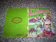 ALBUM VITA DI GARIBALDI ED.LAMPO 1961 CON 121 FIGURINE NO PANINI EDIS MIRA RELI