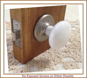 Reengineered $200.00 Porcelain Ceramic Door Knob set to a Very Affordable Price