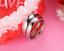Anello-Coppia-Fedine-Fidanzamento-acciaio-Amore-Cuore-Spezzato-nome-Idea-Regalo miniatura 5