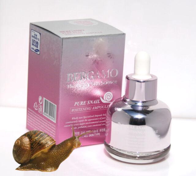 [BERGAMO]The Luxury Skin Science Ampoule 30ml/Pure Snail,Caviar,Gold,Brightening