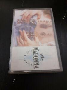 original K7 Cassette tape audio - MADONNA - LIKE A PRAYER