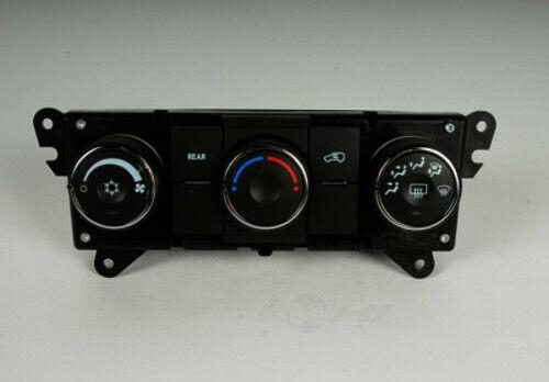 HVAC Control Panel ACDelco GM Original Equipment 15-74070 fits 07-12 GMC Acadia