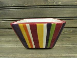 Simple-Additions-Stripes-by-Pampered-Chef-Square-Fruit-Bowl-Multi-Color-Stripes