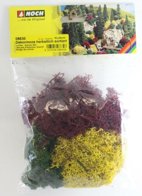 Noch 08630 35g Bag of Autumn Mix Lichen New FNQHobbys