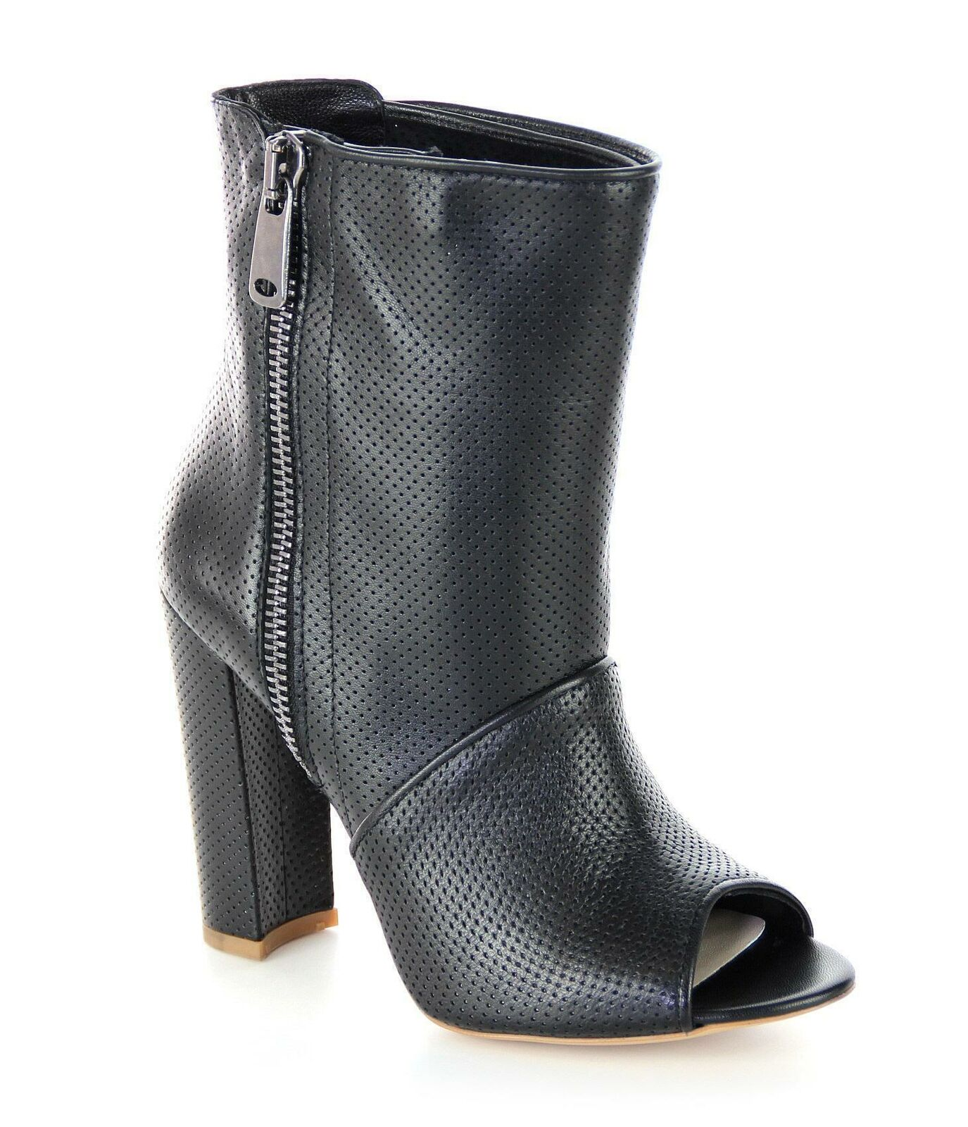 FersenGold - Istanbul Stiefelette Damen Schuhe schwarz Designer Neu