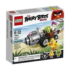 #75821 LEGO PIGGY CAR ESCAPE from The Angry Birds Movie AGE 6-12 74 pcs New