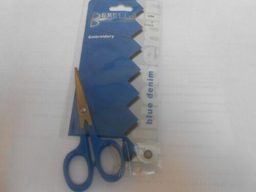 "Bexfield Tijeras De Bordado Azul Denim 5/""//12.5cms"
