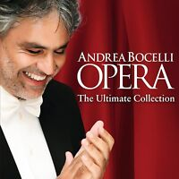 ANDREA BOCELLI OPERA: THE ULTIMATE COLLECTION CD ALBUM (October 20th 2014)