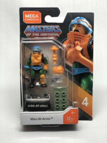 Mega Construx héroes Amos del universo Hombre en Conjunto de construcción de armas