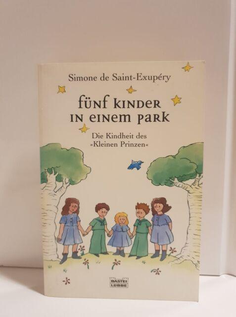 Fünf Kinder in einem Park. Die Kindheit des Kleinen Prinzen Saint-Exupery, Simon